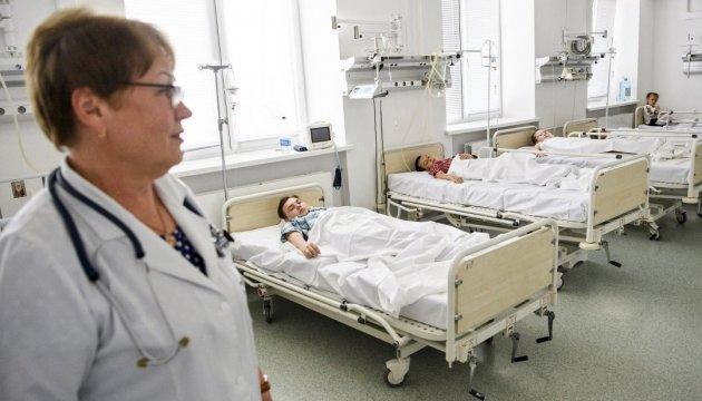 У лікарні Черкас залишаються 15 учнів, які постраждали через отруєння