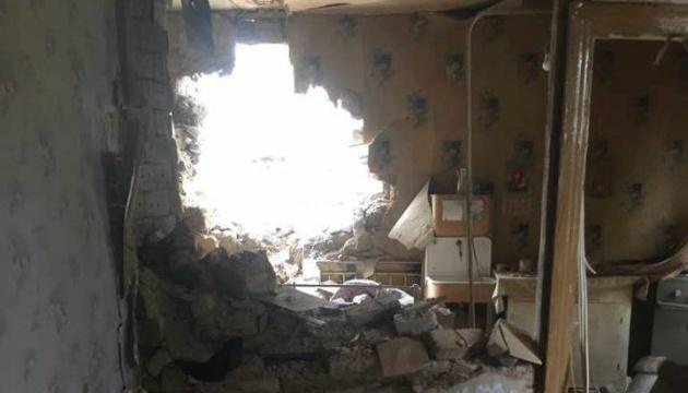 У підконтрольних районах  Донеччини пошкоджено понад 13 тисяч будинків - ОДА