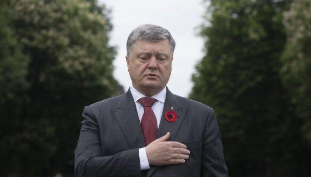 Präsident: Ukraine ist stolz auf Beitrag zum Sieg über Nazismus