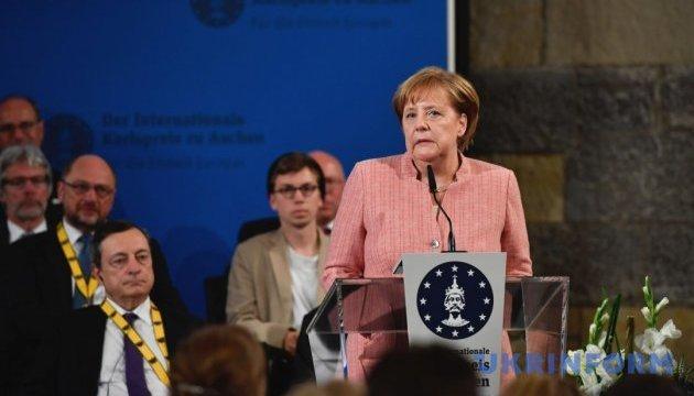 Меркель начала свой визит в Китай