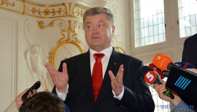 Präsident Poroschenko erwartet erste Tranche von EU-Finanzhilfe binnen Wochen