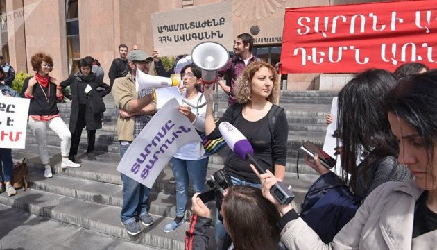 Нові протести в Єревані: учасники вимагають відставки мера