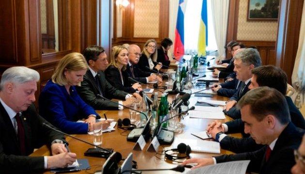 El intercambio comercial entre Ucrania y Eslovenia crece un 31% el año pasado