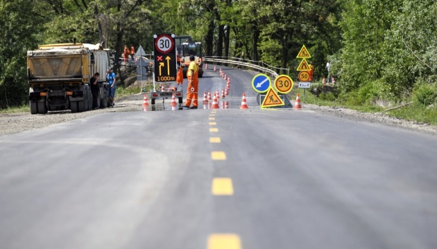 All regional centers of Ukraine planned to be linked with high-quality roads until 2020