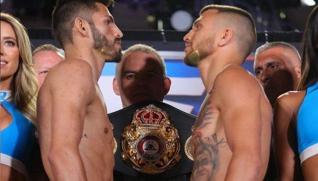 Ломаченко і Лінарес показали однакову вагу перед боєм