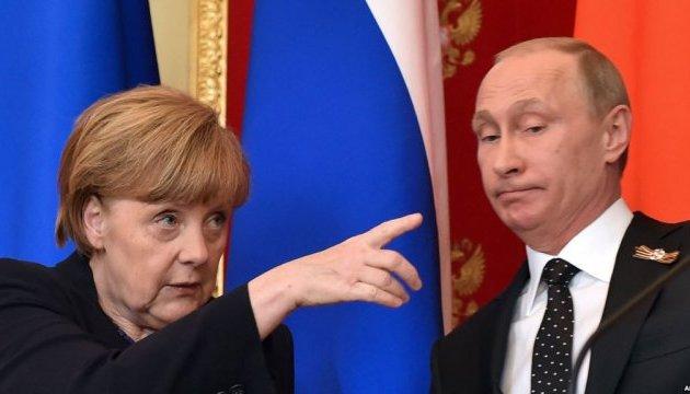 Merkel y Putin discuten fuerzas de paz en Donbás