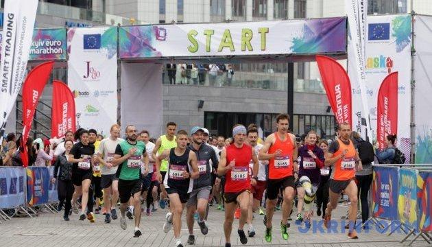 Київ втретє приймає марафон Kyiv Euro Marathon
