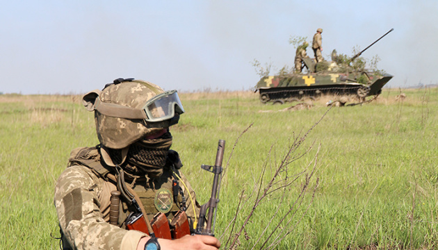 Two Ukrainian soldiers killed in Donbas over past day