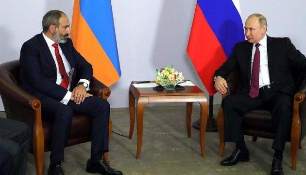 Пашинян зустрівся з Путіним і заявив, що хоче