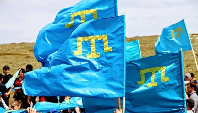 Крымские татары поднялись на Чатыр-Даг в память о жертвах депортации