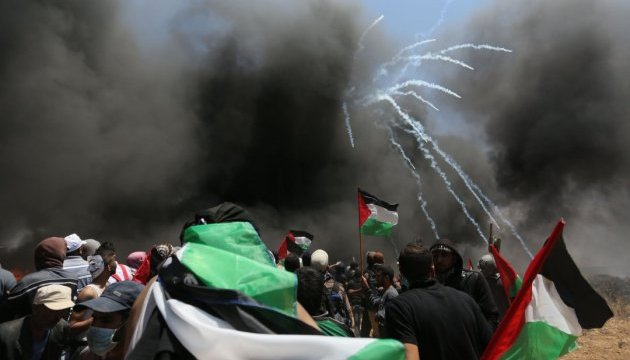 Палестинська влада заявила про 58 загиблих від сутичок в Секторі Гази