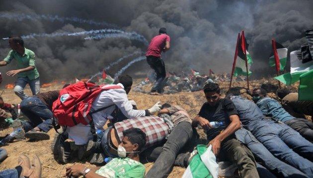 Протести у секторі Газа: один загиблий, десятки постраждалих