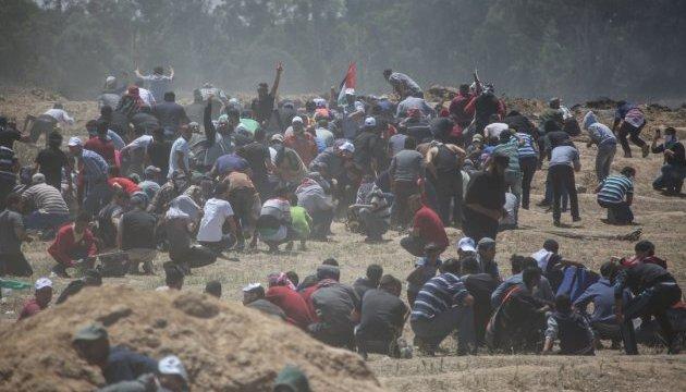 Число жертв столкновений в Секторе Газа превысило 50