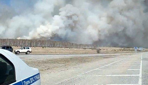 На Урале горит 700 гектаров заповедного леса