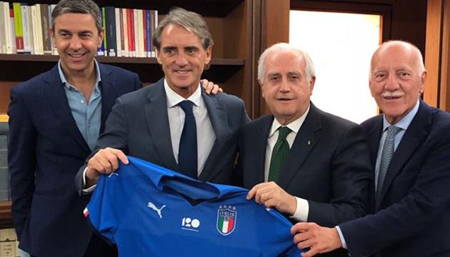 Манчіні очолив збірну Італії з футболу
