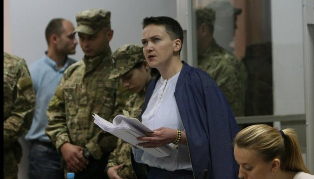 Суд продовжив арешт Надії Савченко на 2 місяці