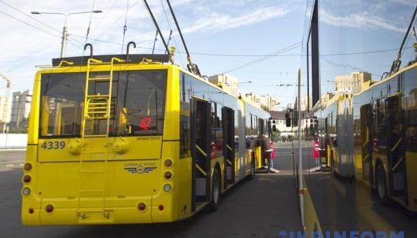 Общественный транспорт Киева сегодня изменит работу