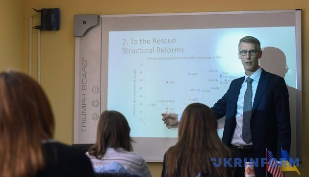 IMF Local Envoy Visits Poltava: