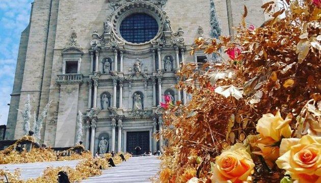 Жирона відправила туристів до квіткового раю