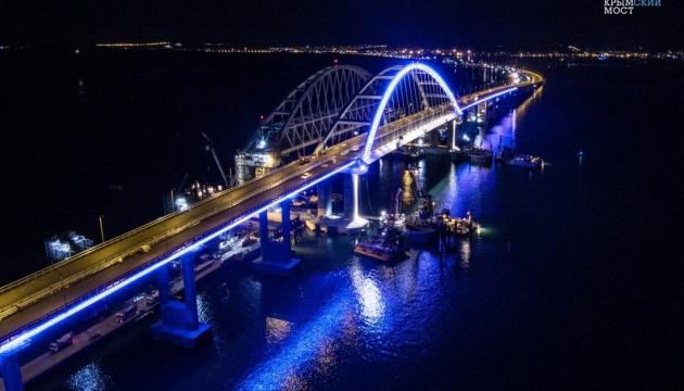 Росія знову відклала відкриття залізниці на Керченському мосту