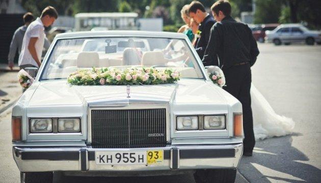Автомобілі, які прикрасять весільний кортеж