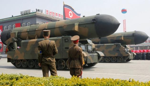 КНДР знову запустила свої ракети в бік Японського моря