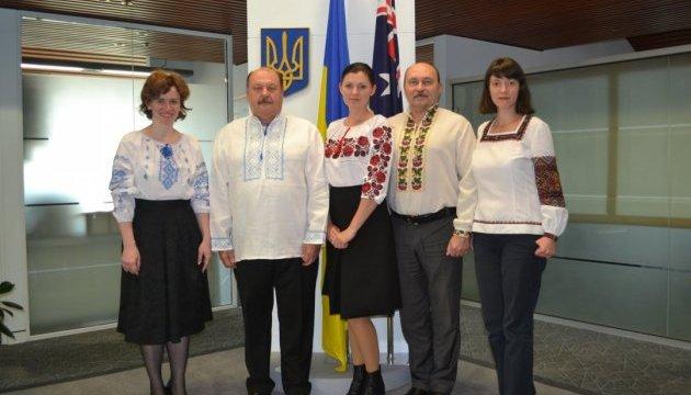 Українці Австралії відзначили День вишиванки