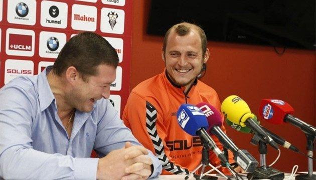 Зозуля: Я щасливий в Альбасете і бачу прихильність уболівальників