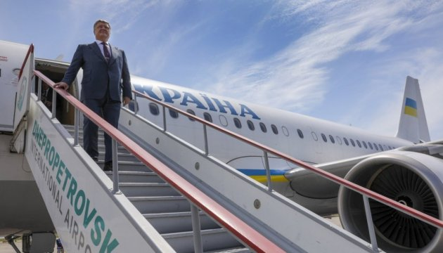 President supports initiative to create airline hub in Dnipro city