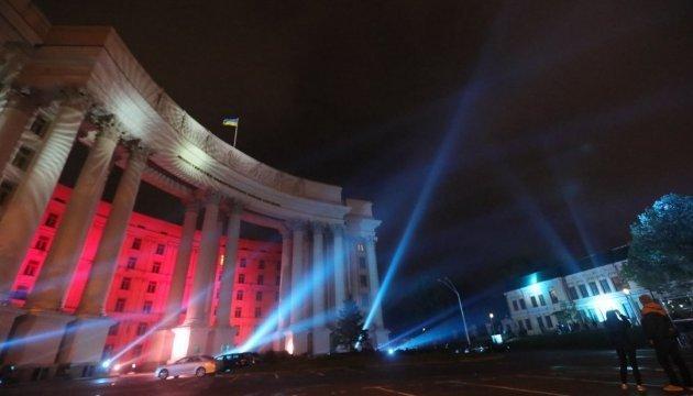 今年的基辅国际灯光节将持续三天