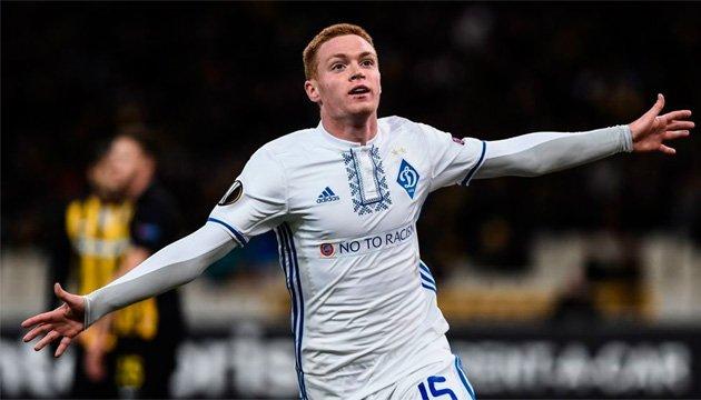 Цыганков вошел в список лучших молодых игроков сезона Лиги Европы УЕФА