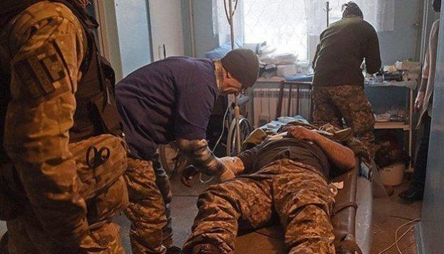 Sieben Soldaten im Donbass verletzt
