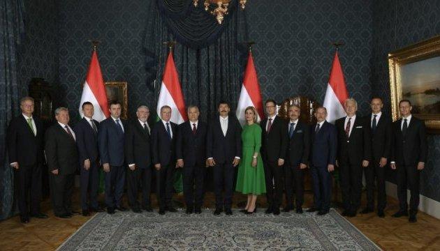 В уряд Орбана призначили міністрів