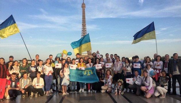 У Парижі вшанували пам'ять жертв депортації кримських татар
