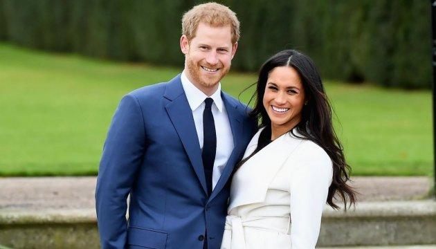 Британський принц Гаррі сьогодні одружиться з Меган Маркл