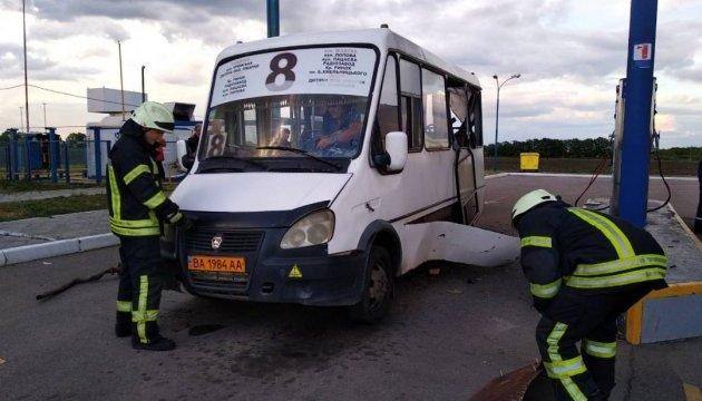 У Кропивницькому - вибух на автозаправці: є постраждалі
