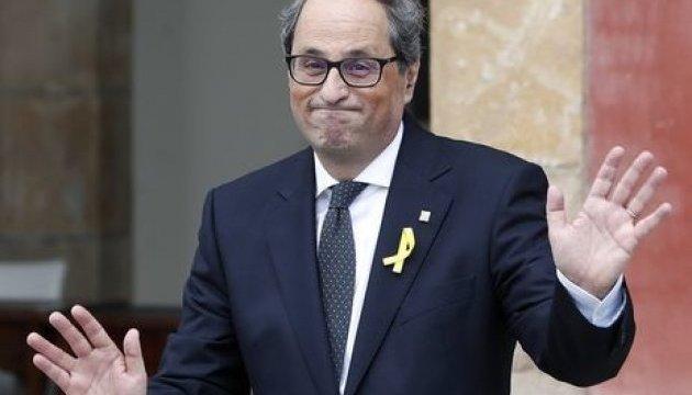 Глава уряду Каталонії оголосив голодування