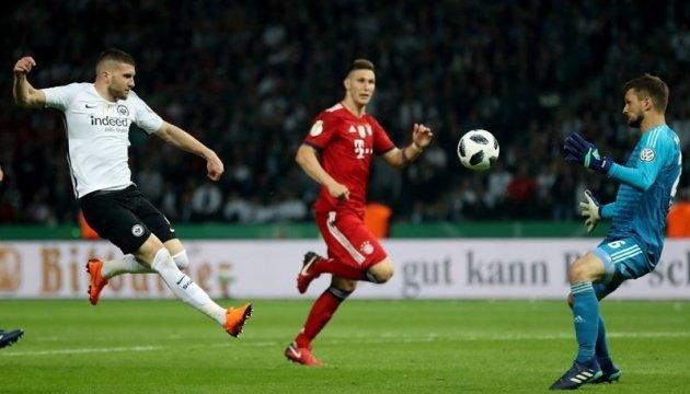 «Айнтрахт» сенсаційно обіграв «Баварію» у фіналі Кубка Німеччини