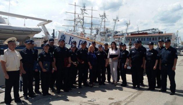 П'ять моряків-прикордонників Одеського загону отримали нагороди ВР