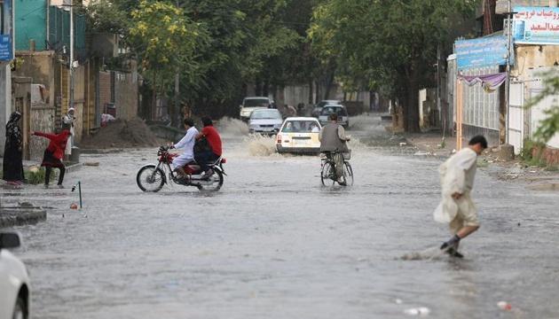 В Афганістані від повені загинули дев'ятеро людей