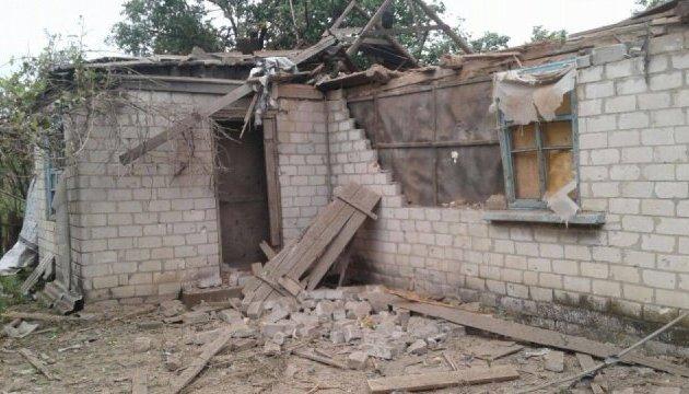 Обстріли Зайцевого: штаб ООС показав, що накоїли бойовики
