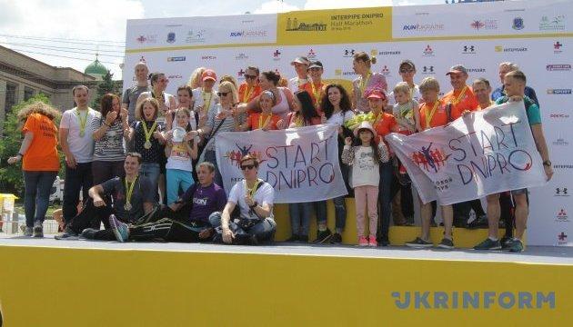 У Дніпрі відбувся третій INTERPIPE Dnipro Half Marathon