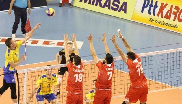 Волейбол: Чоловіча збірна України програла стартовий матч в Золотій Євролізі
