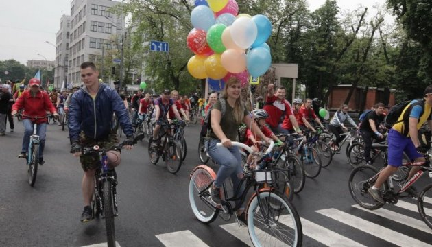 Bicycle rally in Kharkiv brings together 25,000 participants