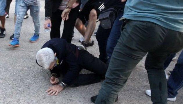 Мэра греческих Салоник жестоко избили