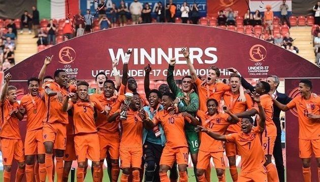 Сборная Голландии стала победителем футбольного Евро-2018 (U-17)