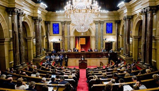 Мадрид заблокировал назначение в правительство Каталонии заключенных политиков