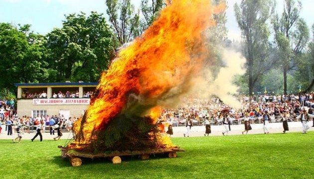 На Буковине зажглась полонинская ватра