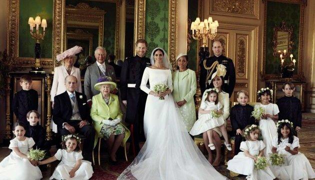 Счастливы и женаты: официальные фото со свадьбы принца Гарри и Меган Маркл