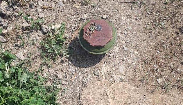 На трассе Мариуполь-Сартана нашли российскую мину, зона поражения – 50 метров
